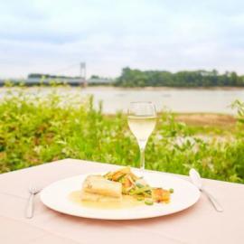 Restaurant La Table du Pêcheur - Vue. Crédit Photot : A. Lamoureux