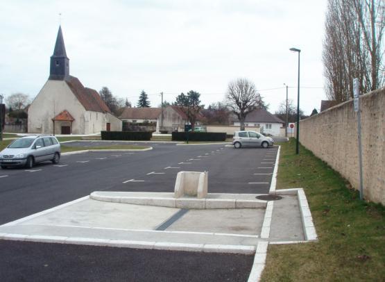 AIRE DE STATIONNEMENT POUR CAMPING-CAR DE PAUCOURT