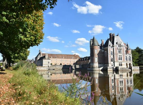 La Bussière - château - 22 aout 2018 - OT Terres de Loire et Canaux - IRémy (23)
