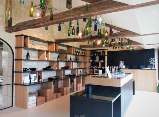 Chateau de Minière - Wine tasting room - Les Coteaux-sur-Loire