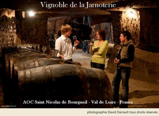 vignoble de la jarnoterie - cave - © david darraud