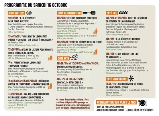 Programme Samedi