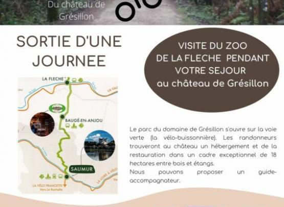 Copie de En vélo jusqu'au zoo de La Flèche