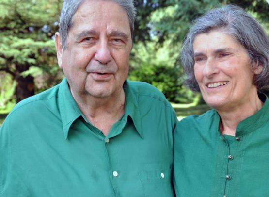Jean-Jacques et sa femme - chambre d'hôtes la Mouche Abeille