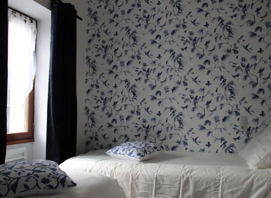 site chambre oiseaux bleus