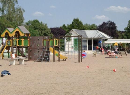 Parc Capitaine - plage - © Nathalie Bonneau - ville de Bourgueil