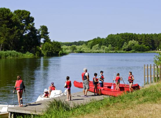 Camping Huttopia Rillé - Canoeing