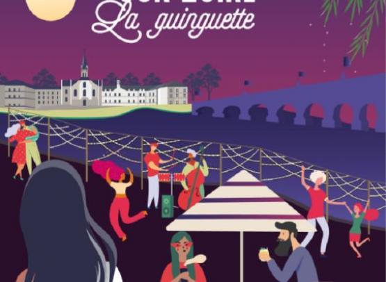 TOURS SUR LOIRE  - GUINGUETTE
