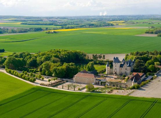 Château and gardens of Le Rivau  - France