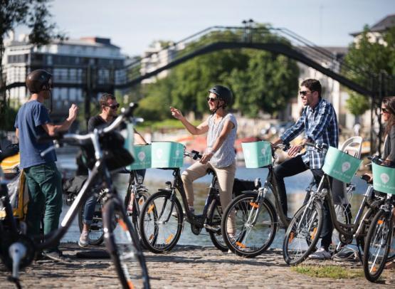 Bike'N Tour -visiter Nantes à velo electrique