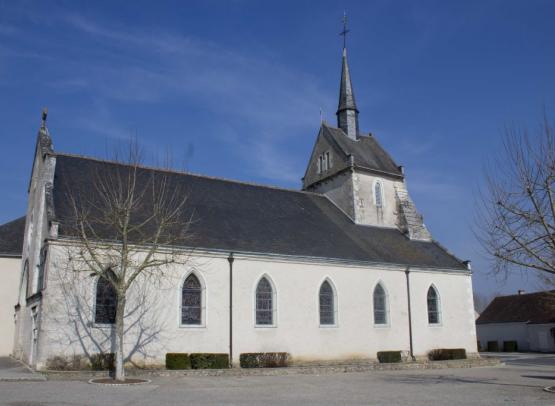 Thenay église