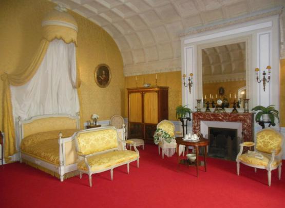 La chambre de la Princesse de Tarente