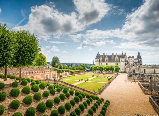 The garden of Naples - Royal chateau of Amboise