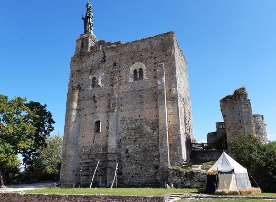Montbazon Fortress - One of France's oldest castle keeps