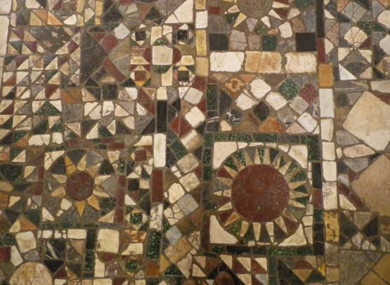 abbaye fleury pavement01