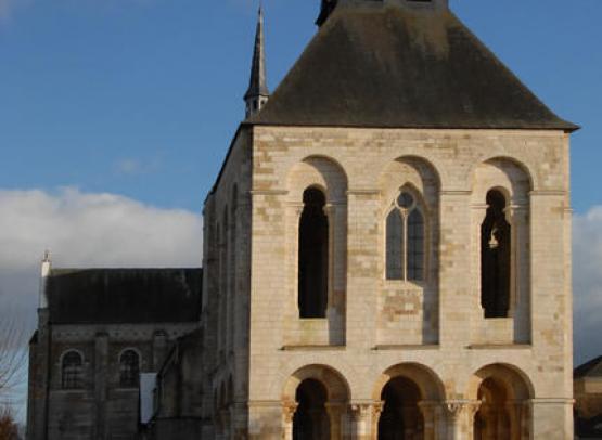 abbaye fleury tour porche