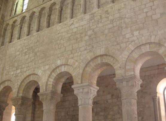 abbaye fleury voutes