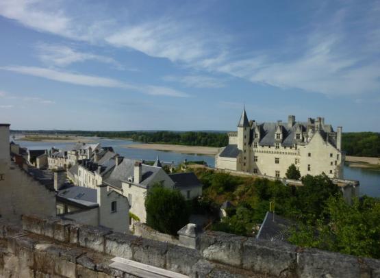 Village et Château de Montsoreau © Sophie Lecerf-SPL SVLT