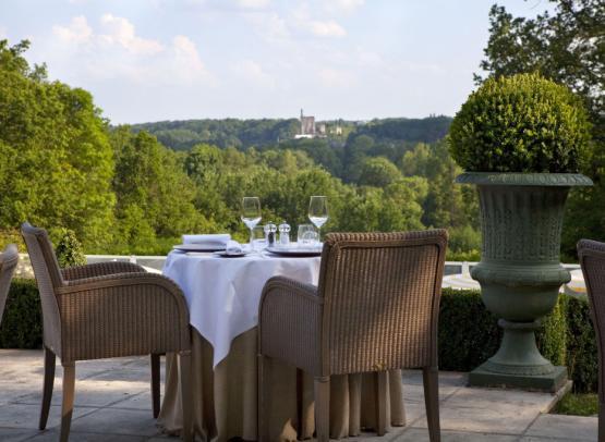 Vue terrasse restaurant