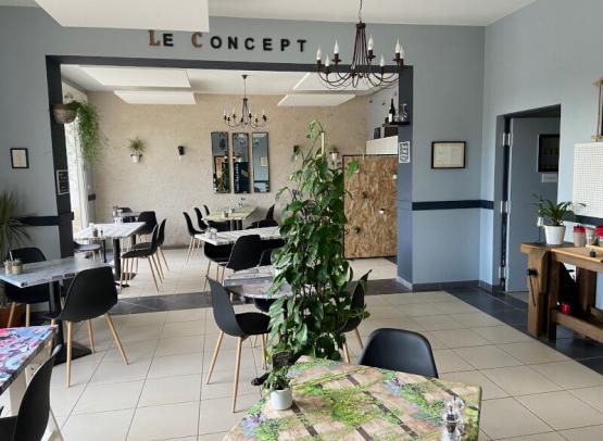 Le Concept - Restaurant and delicatessen - Cigogné, Loire Valley, France.