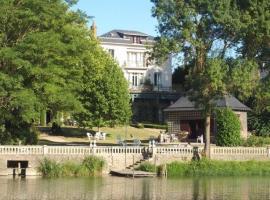 Maison vu du Loir