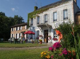 hotel-La-Sauldraie-facade-salbris©Hotel-La-Sauldraie