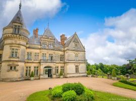 Chateau Hotel de la Bourdaisière - Montlouis-sur-Loire, France.