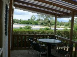 La Poterie campsite - Mosnes, Loire Valley, France.
