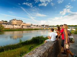 The royal chateau of Amboise - France