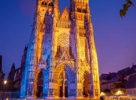 Saint-Gatien Cathedral - Tours, Loire Valley, France.
