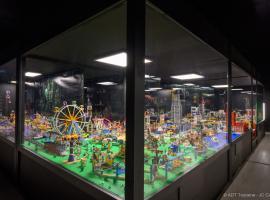 Briquestore - Lego® exhibition - Château-Renault, France.