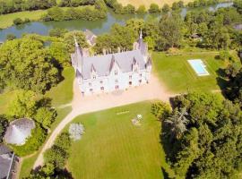 Chambres au Château de Montreuil sur Loir (1)