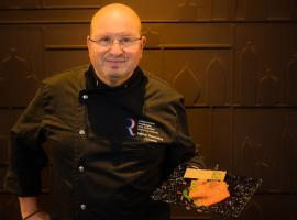 Patrick Descoubes, chef of L'Oceanic - Chinon, Loire Valley, France.
