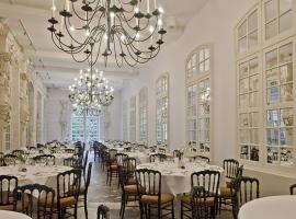 L'Orangerie, the restaurant of the Chateau de Chenonceau.