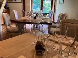Table, by Le Calabash. Yzeures-sur-Creuse, France.