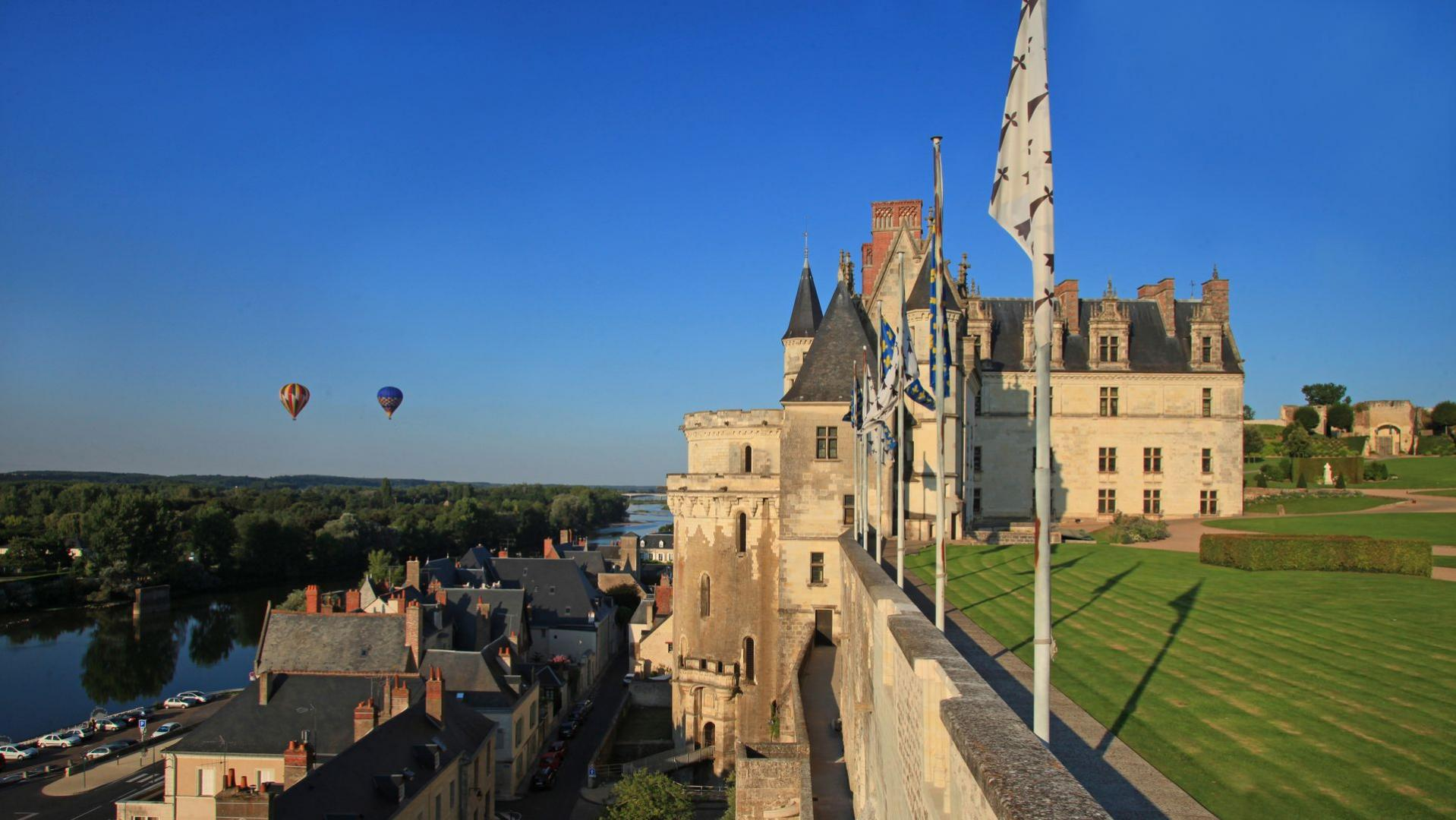 Royal Château Of Amboise The Loire Valley A Journey Through France