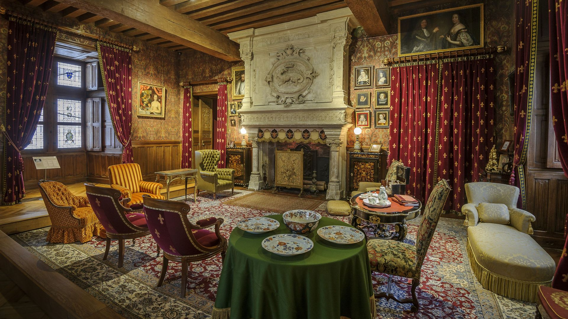 Not To Be Missed The Biencourt Room The Loire Valley A Journey