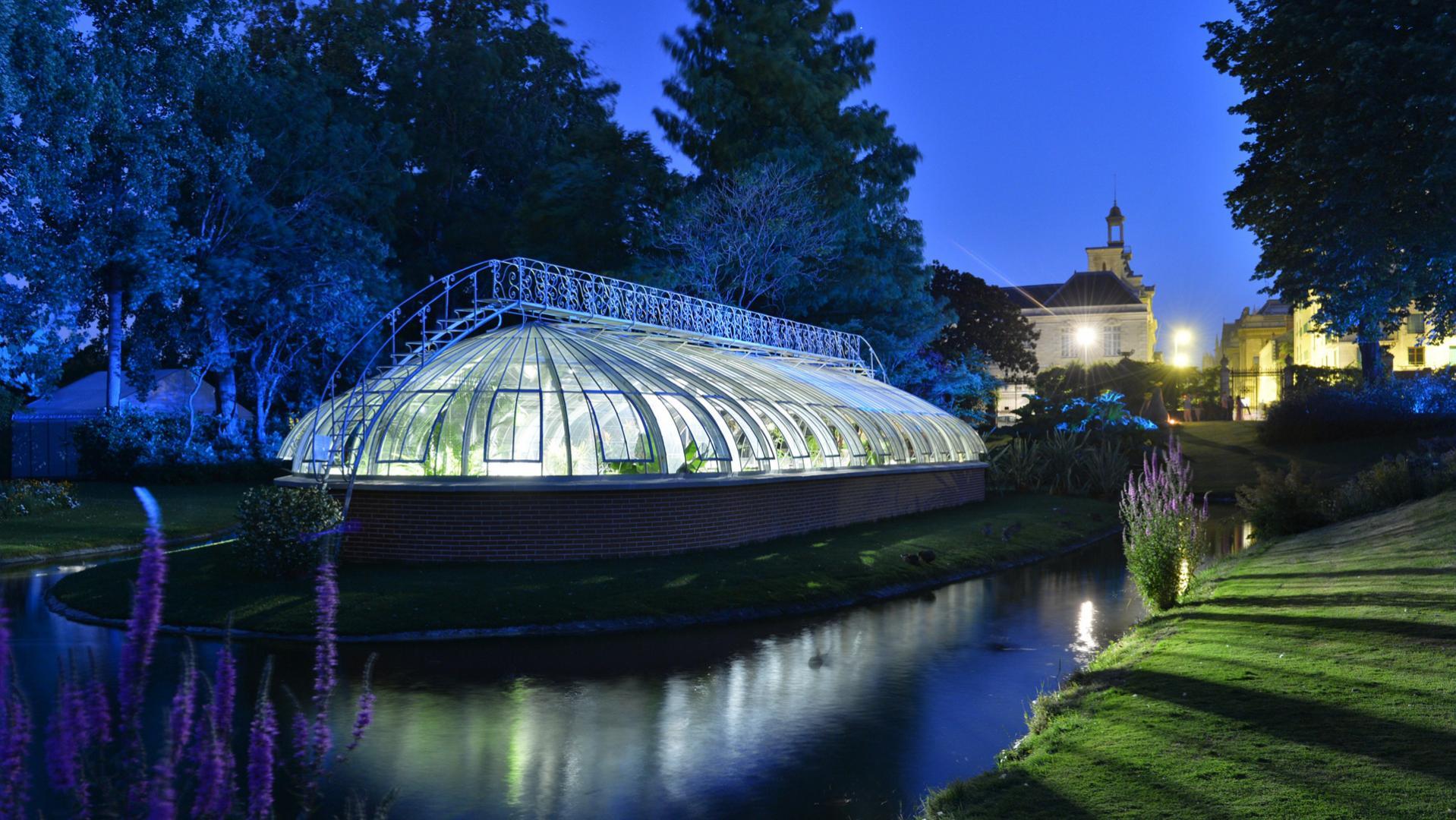 """The """"Botanical Garden"""" in Nantes, The Loire Valley, a ..."""