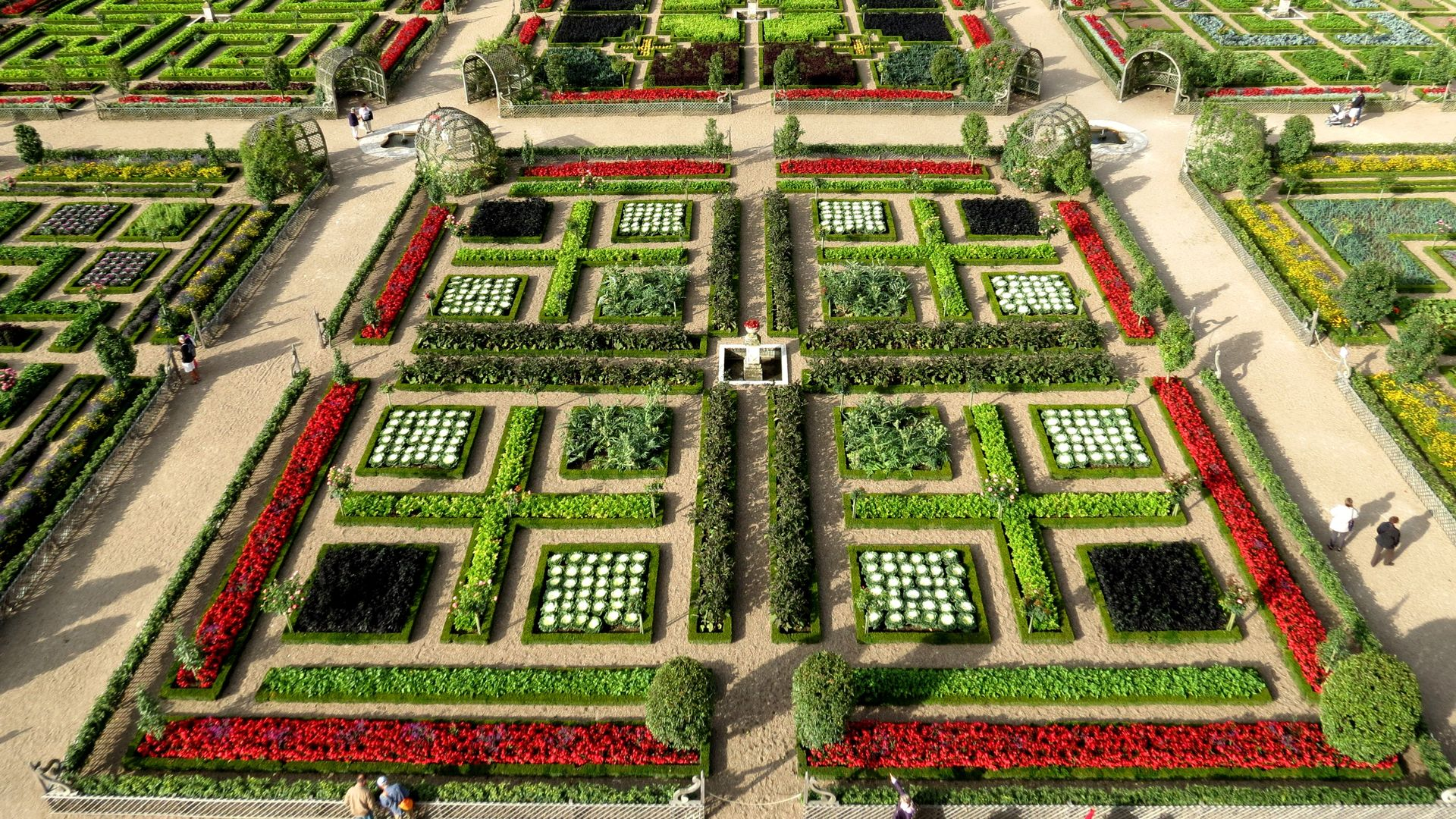 Not To Be Missed The Ornamental Renaissance Vegetable Garden The